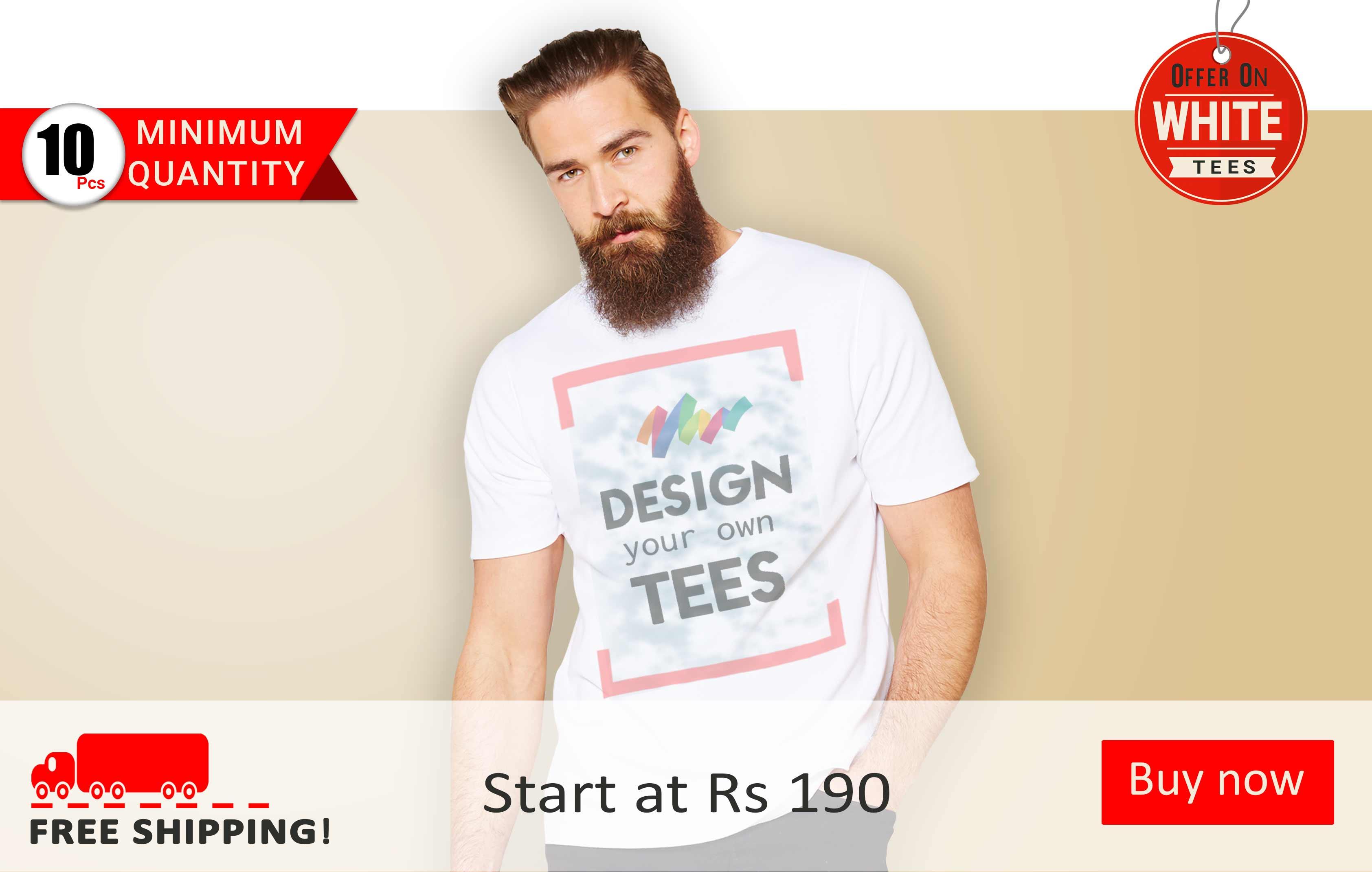 7b83cd5b6 Promotional Tshirts | T-shirt Loot – Customized T-shirts India ...