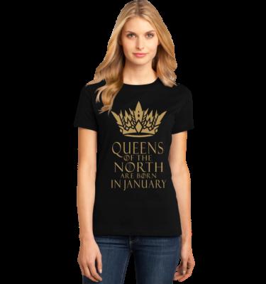 Womens North Queens Birthday T Shirt