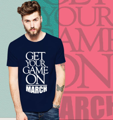 Game On March T Shirt